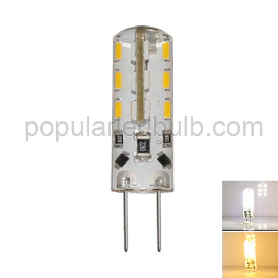DC 12V G4 LED 1.5W 80-90lm 6000K led 3014 SMD 360 Bean Angle Light Bulb Leds