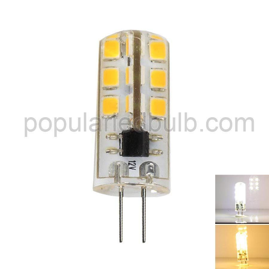 DC 12V G4 LED 3W 100-120lm 7000K led 2835 SMD 360 Bean Angle Light Bulb Leds