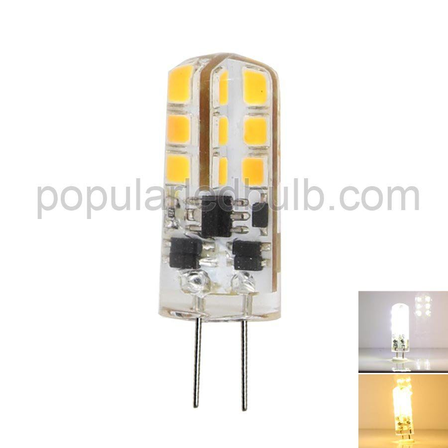 AC DC 12V G4 LED 3W 150-170lm 7000K led 2835 SMD  Light Bulb Leds