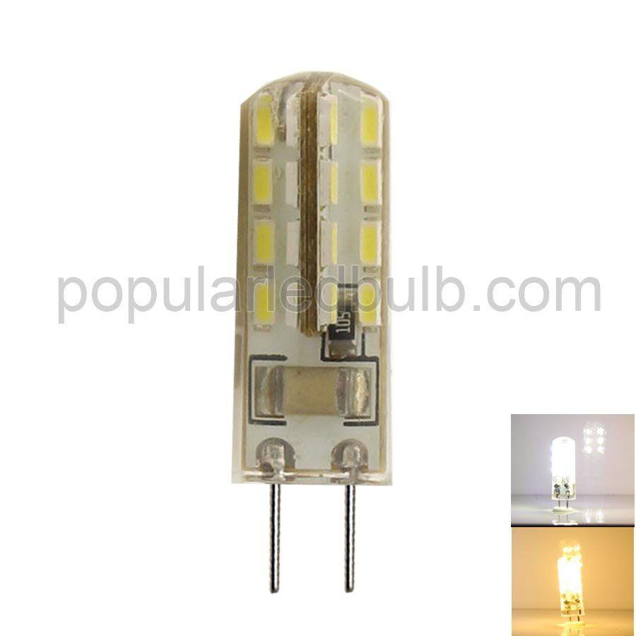 AC 110V/220V G4 LED 3W 80-100lm 3200K led 3014SMD LED Corn Bulb