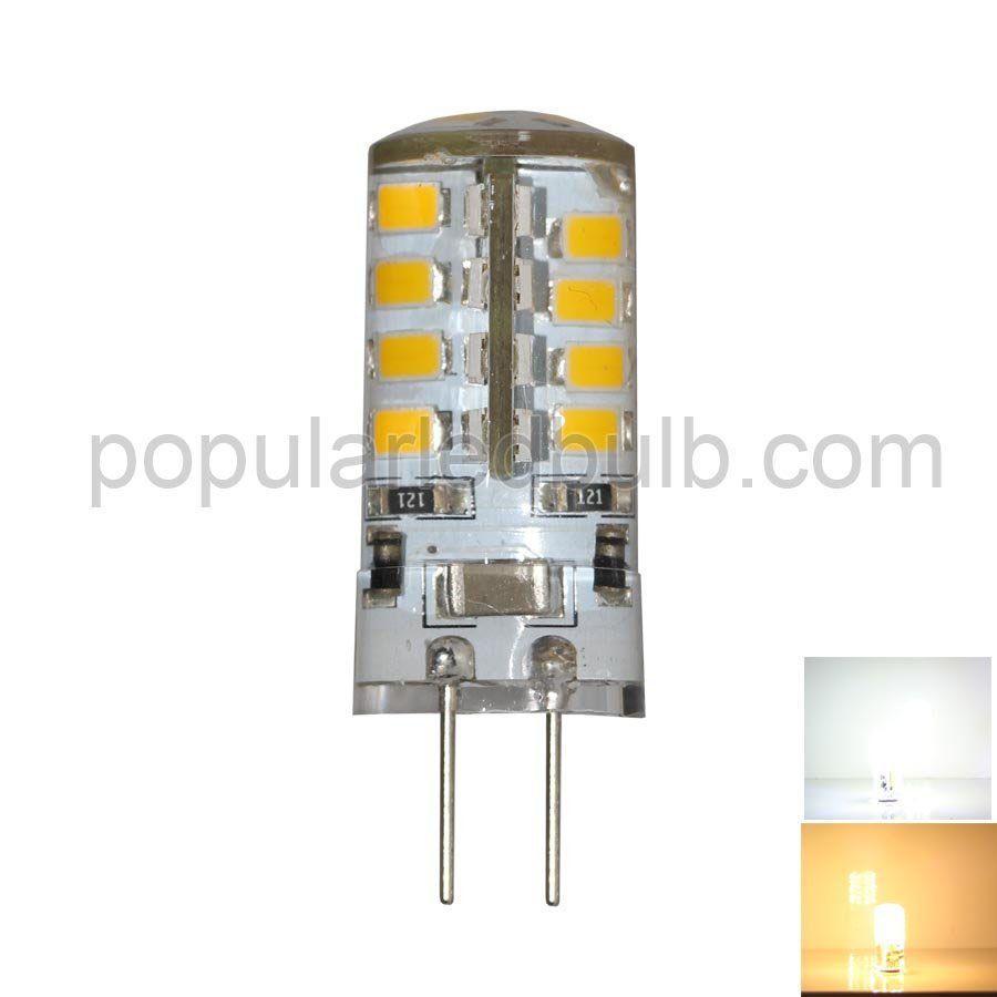 G4 LED Bulbs  AC DC 12V G4 LED 3W 210-240lm 2700K led 2835 SMD LED Corn Bulb