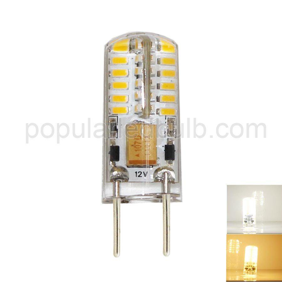 AC DC 12V G4 LED 3W 150-170lm 7000K led 3014SMD 360 Bean Angle Light Bulb Leds