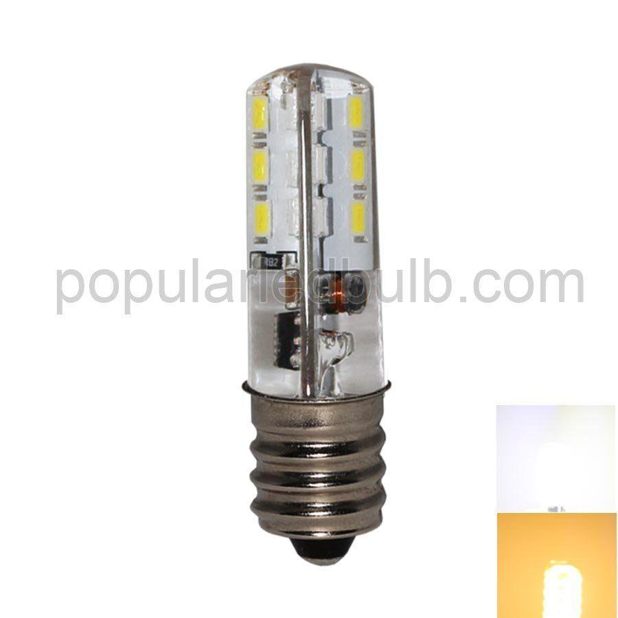 E10 LED Bulbs  DC 2.7-6V E10 LED 1.5W  60-80lm 7000K led 3014 SMD superbright leds