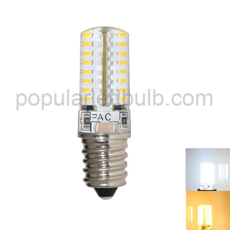 AC120V or 230V E14 LED 2.5W 160-190lm 6000K led 3014 SMD Light Bulb leds