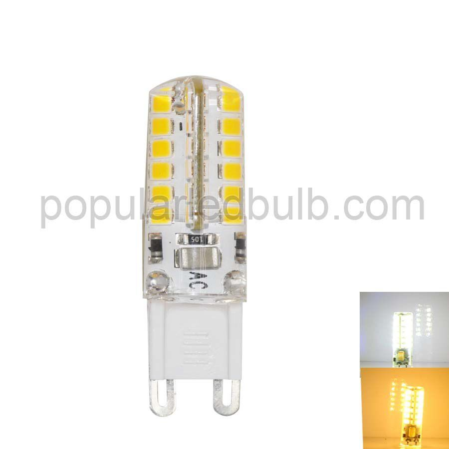 AC120V or 230V G9 LED 3W 2700K led 190-210lm 2835 SMD Light Bulb Leds