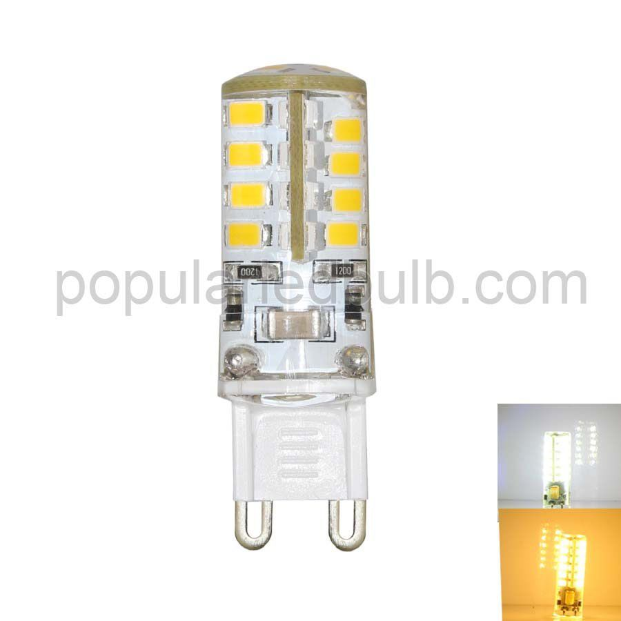 AC 120V/230V G9 LED 3W 180-210lm 2700K led 2835 SMD Light Bulb leds