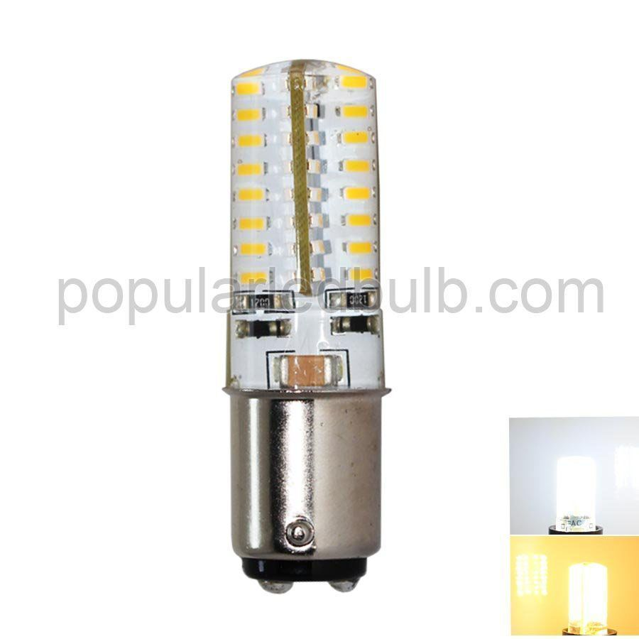 AC120V or 230V BA15D 2.5W LED 160-190lm 3000K led 3014 SMD superbright leds