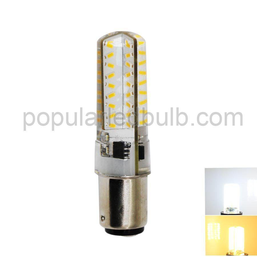 AC120V or  230V BAY15D LED 3W 200-220lm 6000K led 3014 SMD superbright leds