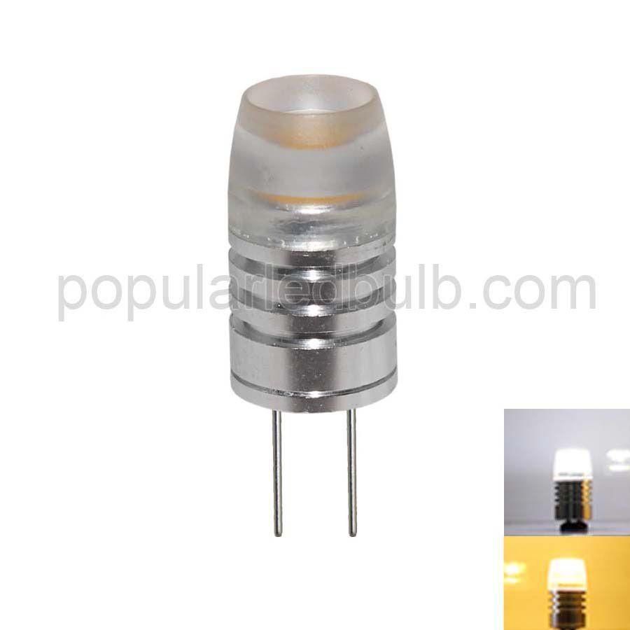 G4 LED Bulbs  AC DC 12V G4 LED 1.5W 60-80lm 7000K led Light Bulb