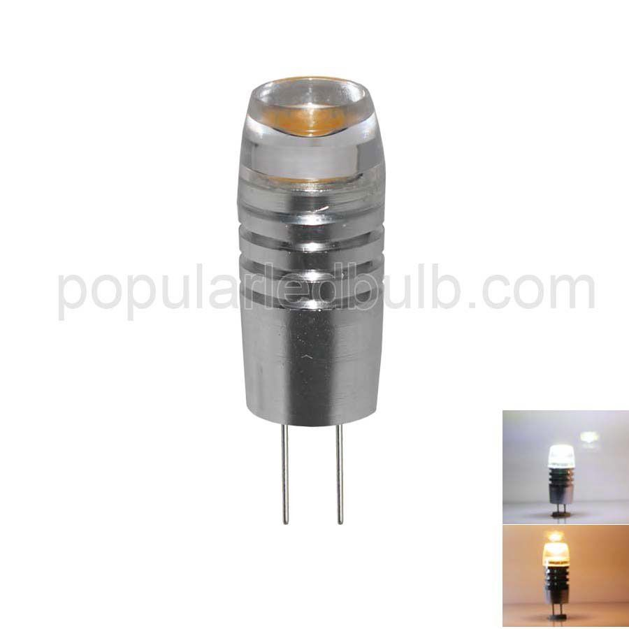 DC 12V G4 LED 1.5W 40-50lm 6000K led  Light Bulb Leds with Aluminum Series