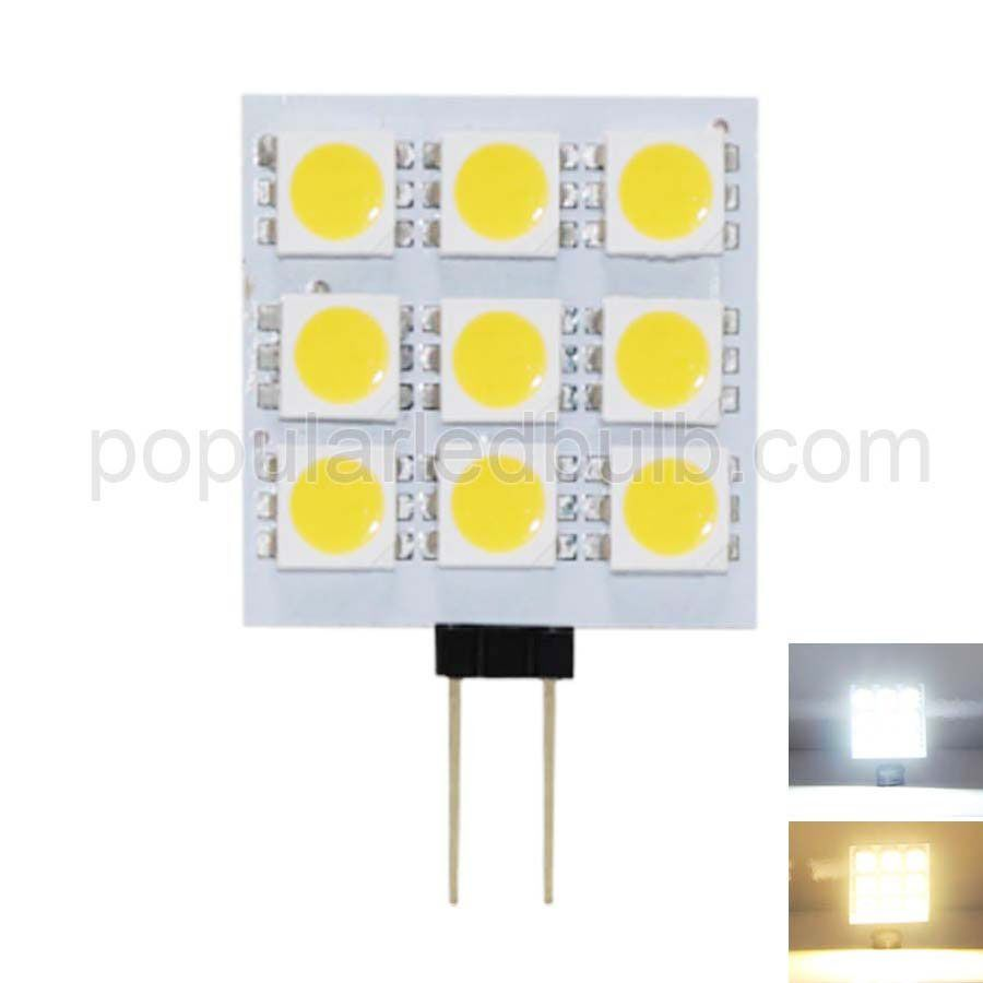 DC 12V G4 LED 1.5W 90-100lm 2700K led 5050SMD Light Bulb Leds