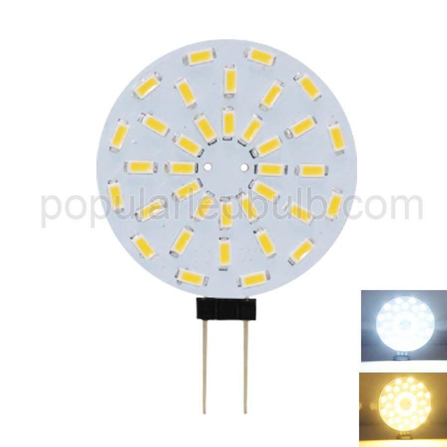AC DC 12V G4 LED 2W 190-210lm 3000K led 3014SMD Light Bulb Leds