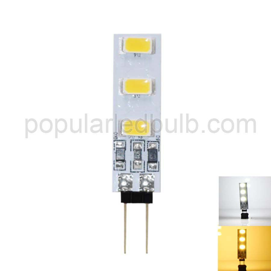 DC 12V G4 1W 80-100lm 3200K led 5730SMD led Light with PCB Series