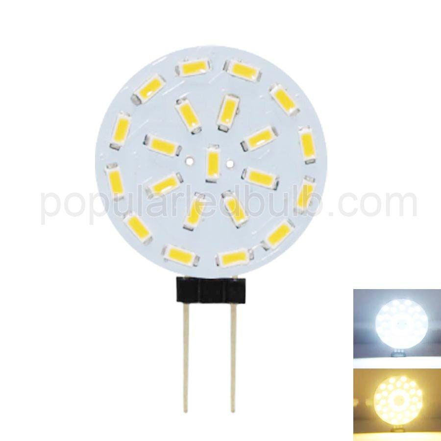 AC DC 12V G4 1.5W 3014SMD 130-150lm 7000K led Light with PCB Series