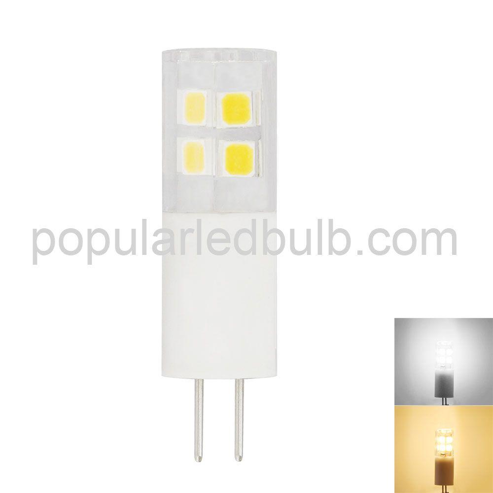 AC DC 12V G4 LED 1.5W 170-2080lm 3000K led 3014B SMD Light Bulb ledEG4