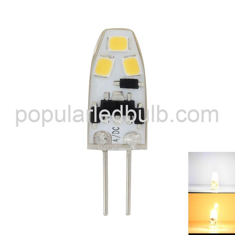G4 LED Bulbs  AC DC 12V G4 LED 0.8Watt 70-100lm 6000K led 2835SMD Light Led