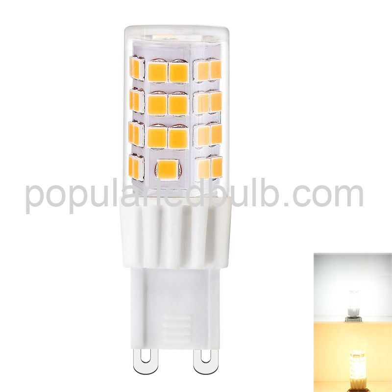 G9 LED Bulbs  G9 RA90 Bulb SMD2835*45 3.5W Ceramics LED