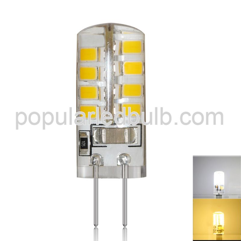 G4 LED Bulbs  AC 120V or 230V G4 LED 3000K 2Watt led 260-290lm 2835 SMD 360 Bean Angle Light Bulb Led