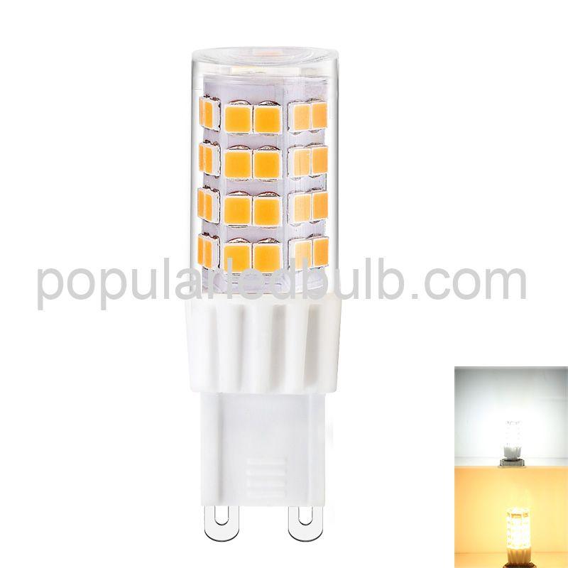 AC 230V G9 LED 3000K 4.5Watt led 4300-480lm 2835 SMD 360 Bean Angle Light Bulb Led