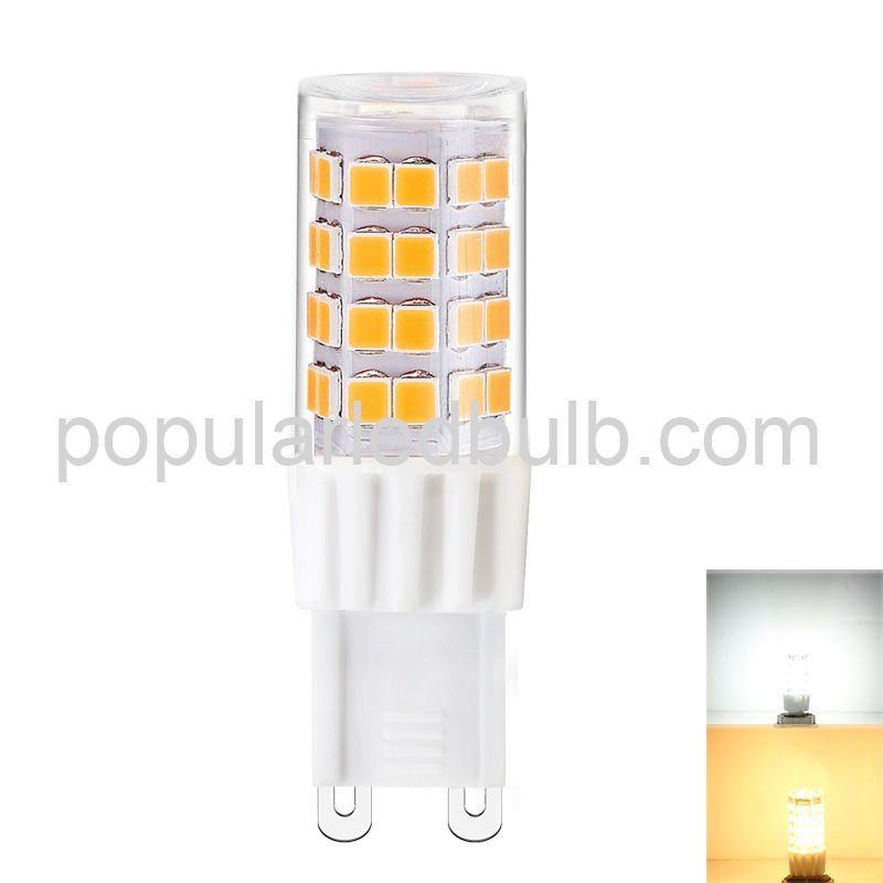 G9 bulb G9 AC230V 51 led lamp SMD2835