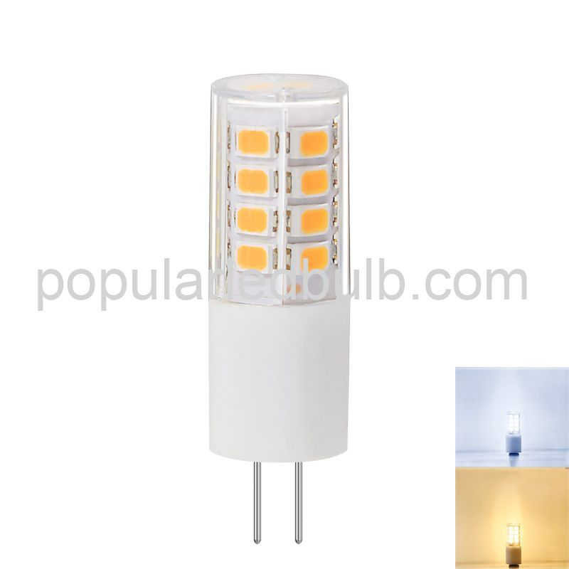 AC DC 12V G4 LED 2.5W 280-3200m 3000K led 2835 SMD Light Bulb ledG4
