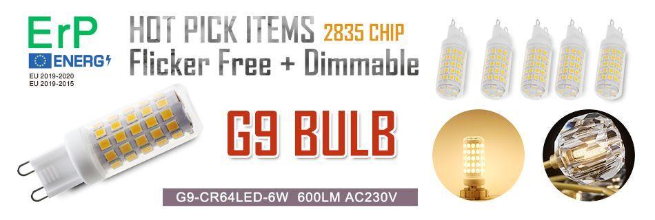 G9 LED Bulbs G9 bulb G9 AC230V 51 led lamp SMD2835