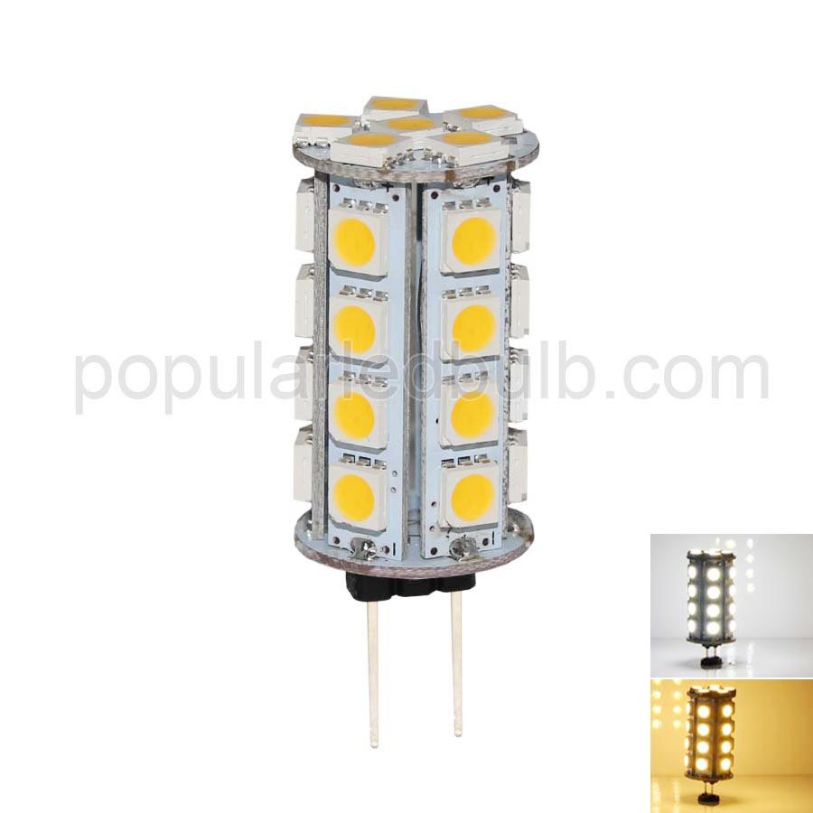 dc 12v g4 led 3 5w 250 270lm 3000k led 5050smd light bulb. Black Bedroom Furniture Sets. Home Design Ideas